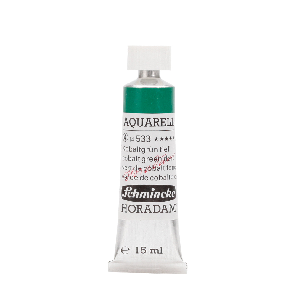 HORADAM® AQUARELL Kobaltgrün tief Tube  15 ml 14533006