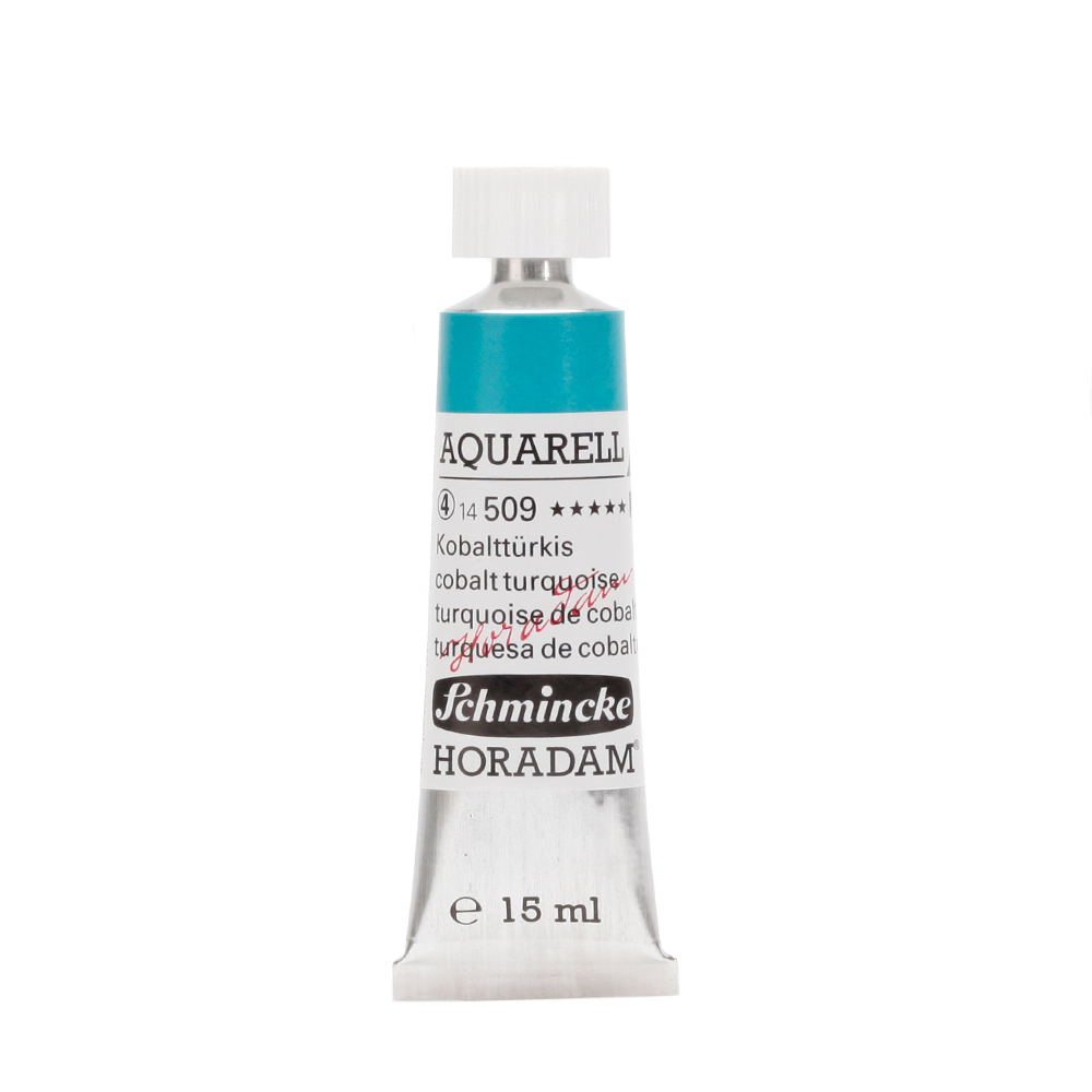 HORADAM® AQUARELL Kobalttürkis Tube  15 ml 14509006