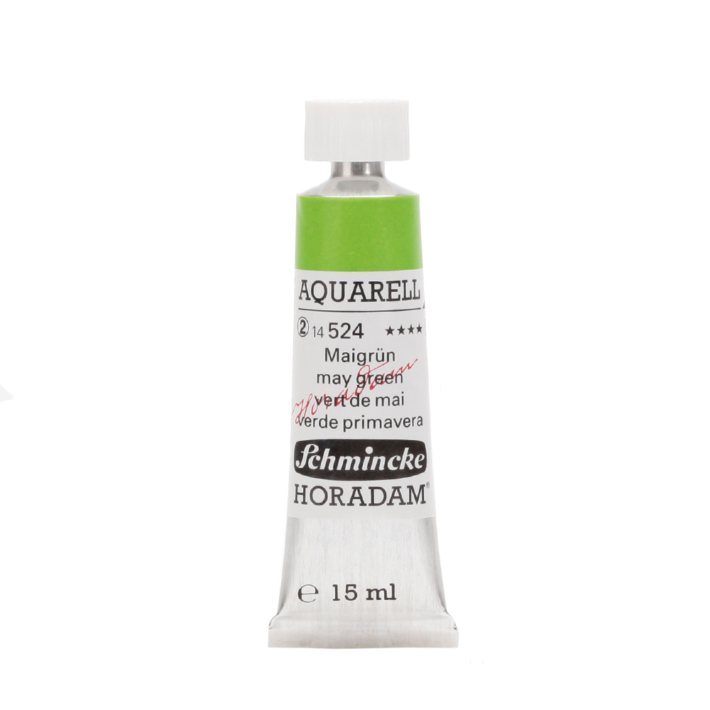 HORADAM® AQUARELL Maigrün Tube  15 ml 14524006