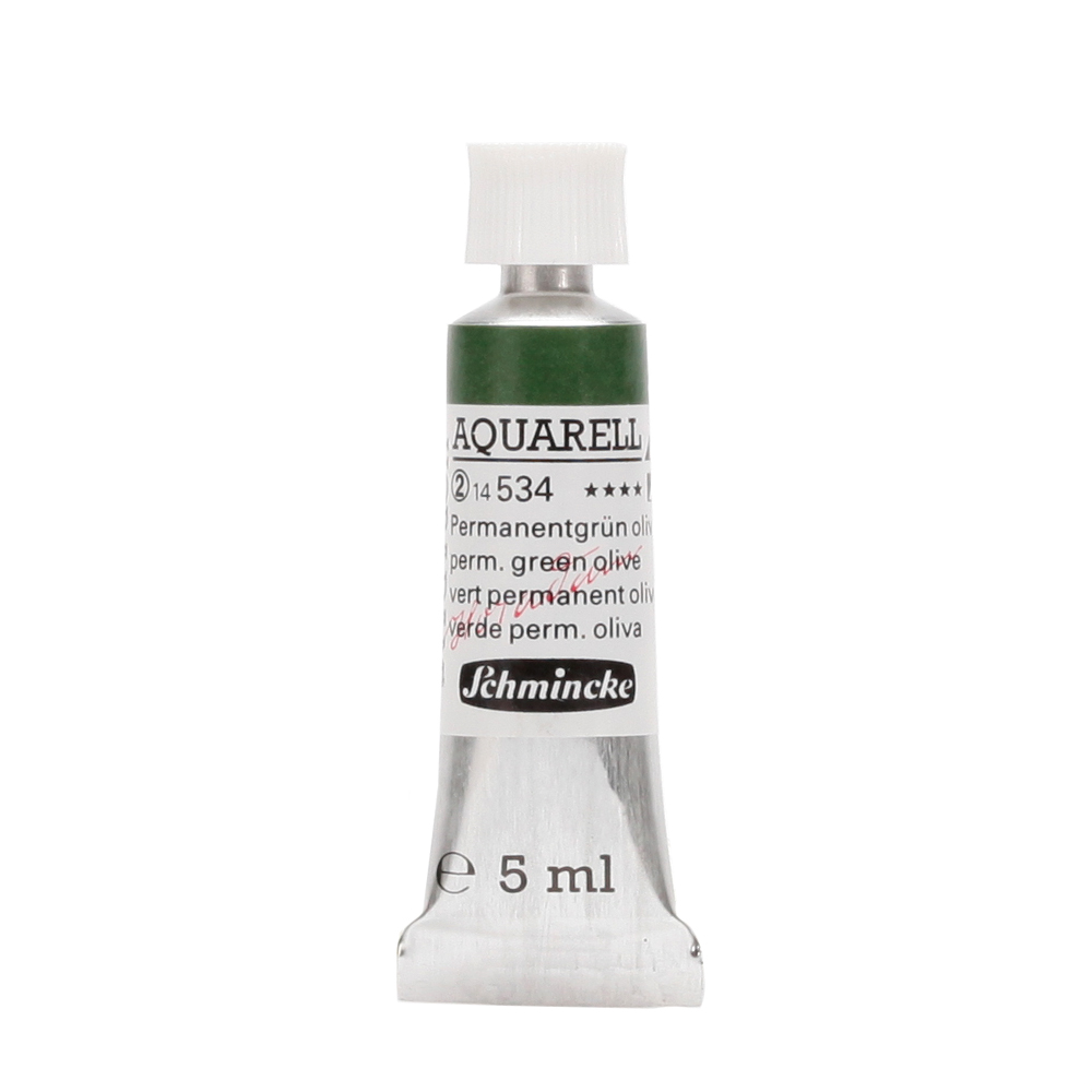 HORADAM® AQUARELL Permanentgrün Oliv Tube  5 ml 14534001
