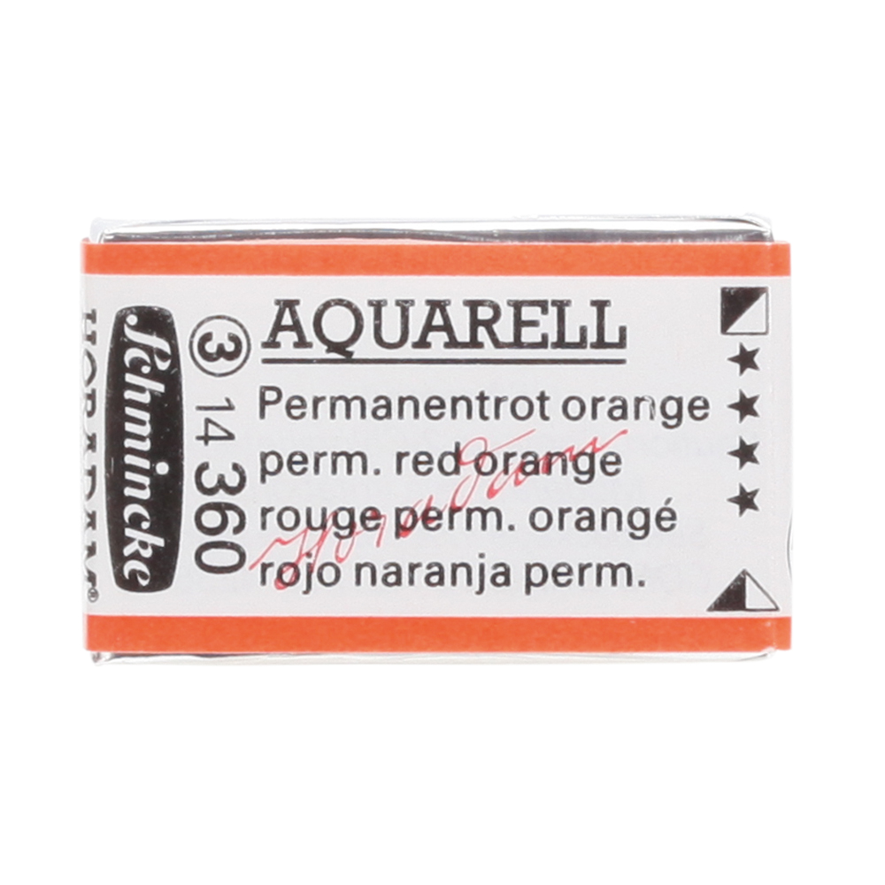 HORADAM® AQUARELL Permanentrot Orange Näpfchen  1/1 N. 14360043