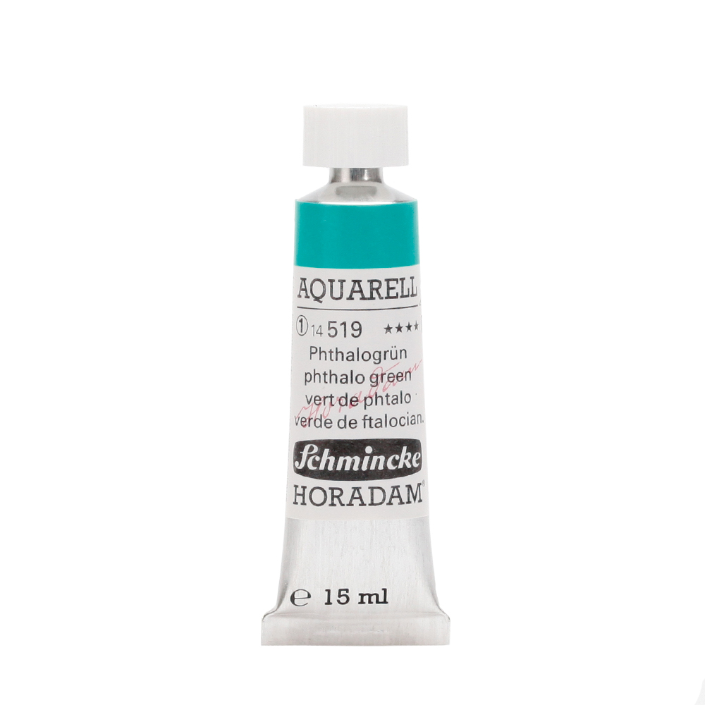 HORADAM® AQUARELL Phthalogrün Tube  15 ml 14519006