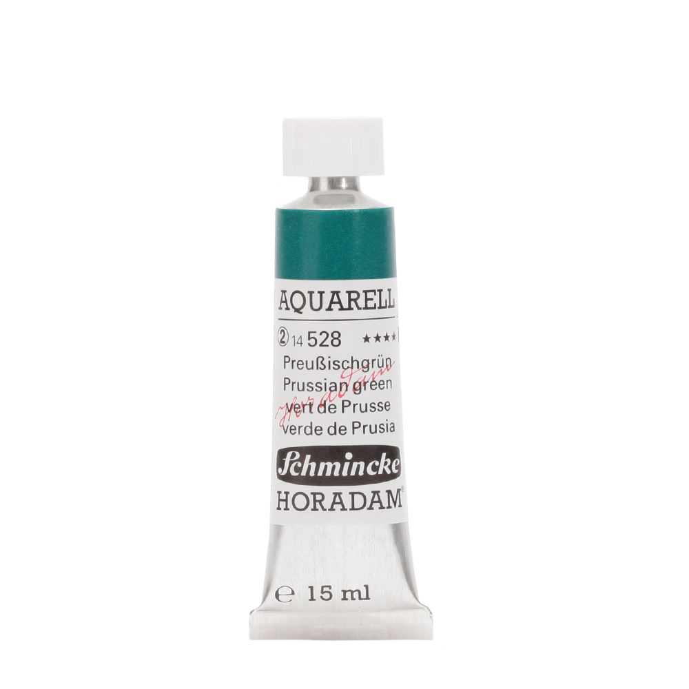HORADAM® AQUARELL Preußischgrün Tube  15 ml 14528006