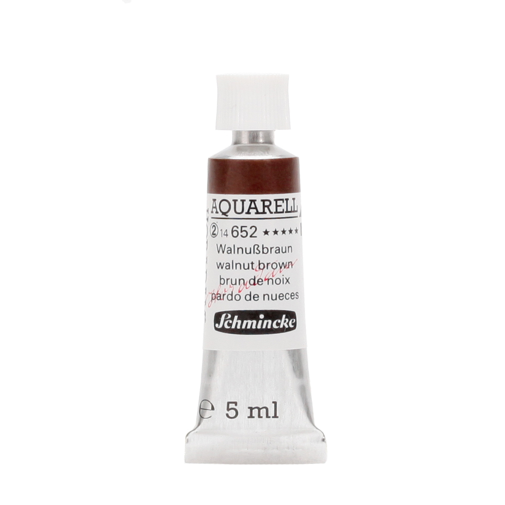 HORADAM® AQUARELL Walnußbraun Tube  5 ml 14652001