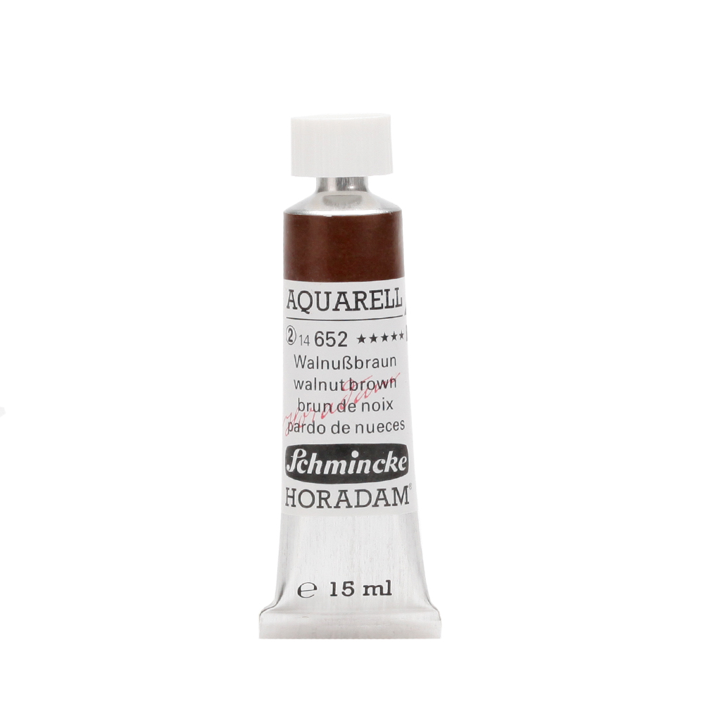 HORADAM® AQUARELL Walnußbraun Tube  15 ml 14652006