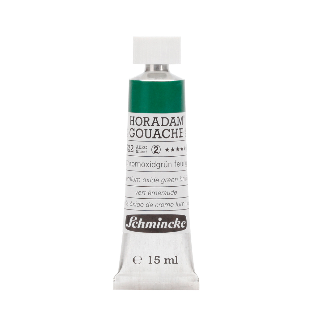 HORADAM® GOUACHE Chromoxidgrün feurig Tube  15 ml 12522006