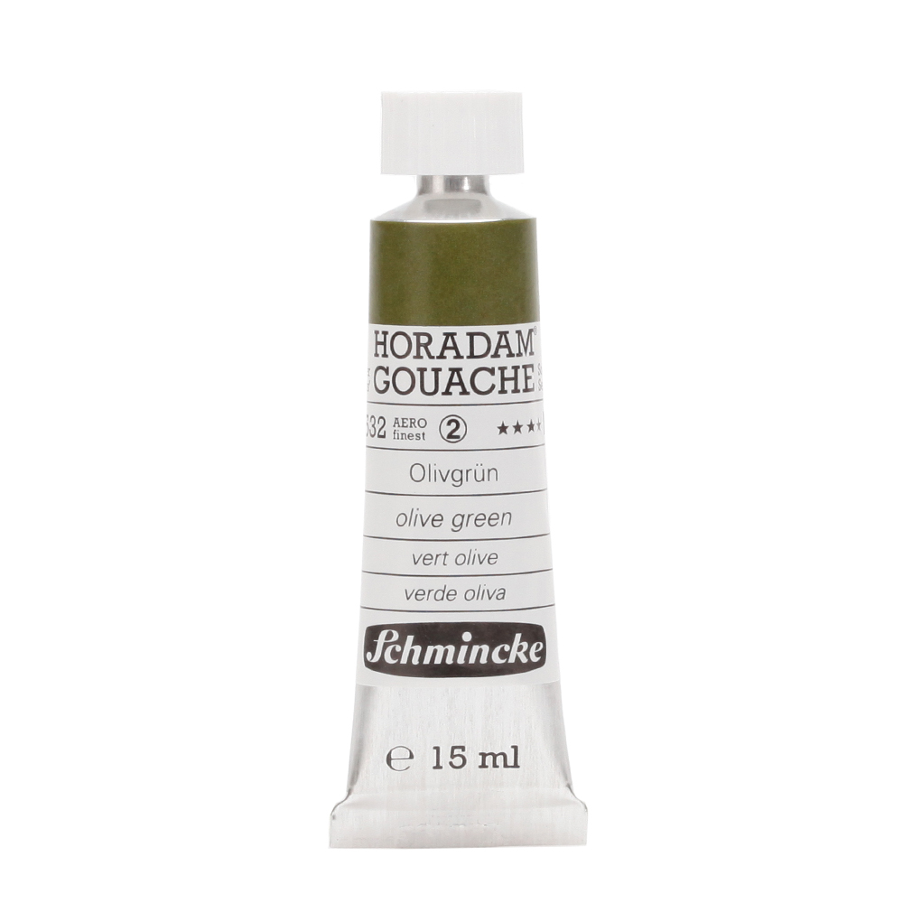 HORADAM® GOUACHE Olivgrün Tube  15 ml 12532006