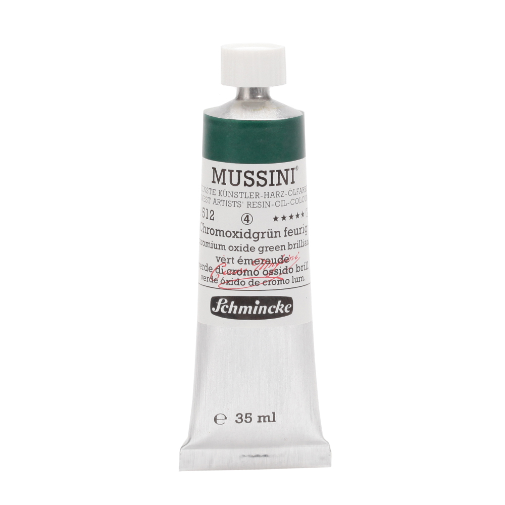MUSSINI® Chromoxidgrün feurig Tube  35 ml 10512009