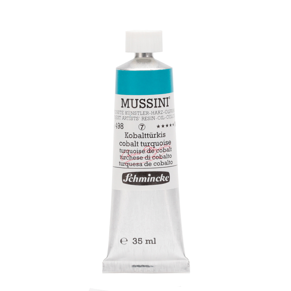 MUSSINI® Kobalttürkis Tube  35 ml 10498009