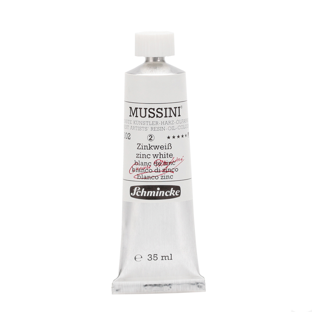 MUSSINI® Zinkweiß Tube  35 ml 10102009