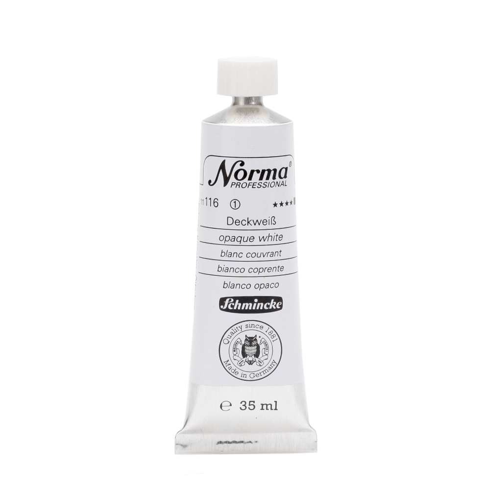 Norma® Professional Deckweiß Tube  35 ml 11116009