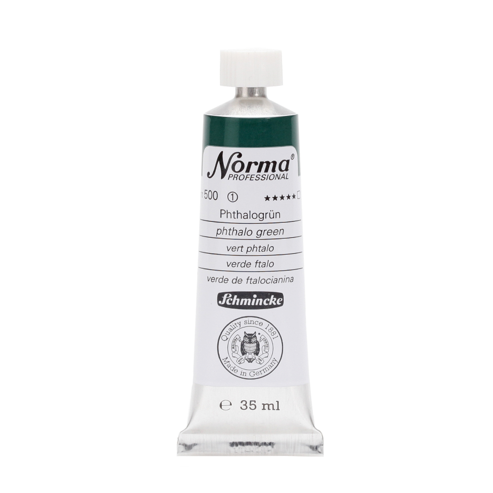 Norma® Professional Phthalogrün Tube  35 ml 11500009