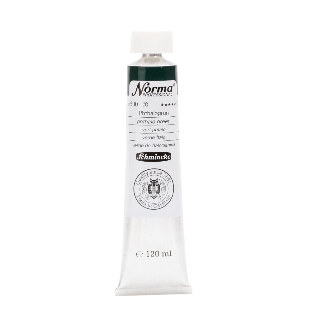 Norma® Professional Phthalogrün Tube  120 ml 11500012