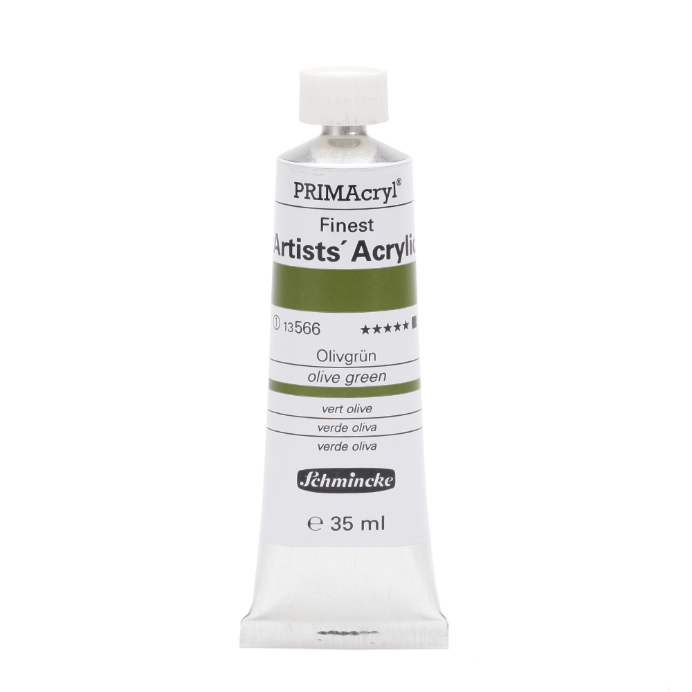 PRIMAcryl® Finest Artists' Acrylic Olivgrün Tube  35 ml 13566009