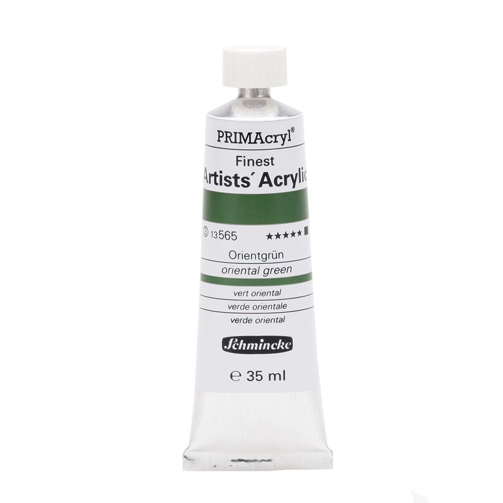 PRIMAcryl® Finest Artists' Acrylic Orientgrün Tube  35 ml 13565009