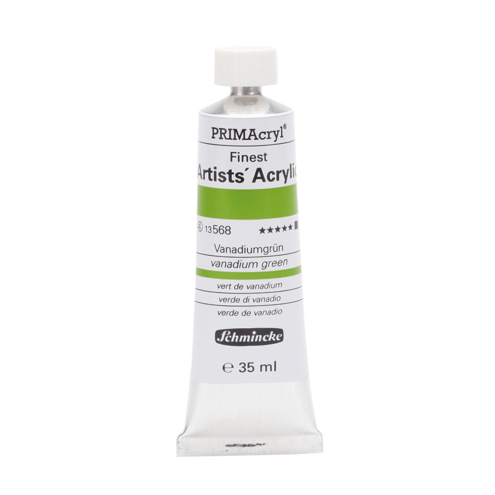 PRIMAcryl® Finest Artists' Acrylic Vanadiumgrün Tube  35 ml 13568009