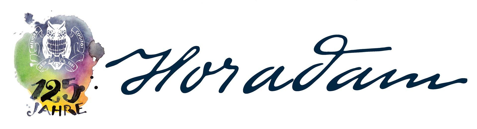 Logo HORADAM 125 Jahre Kopfbild