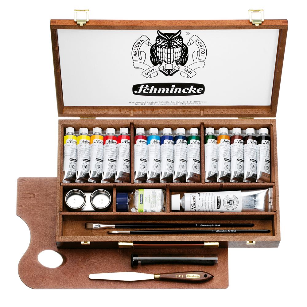 Norma® Professional: Schmincke Künstlerfarben